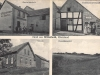 Postkarte - Jägerheim, Kolonialhandlung, Alte Schule, Blick - (Quelle:Fiala)